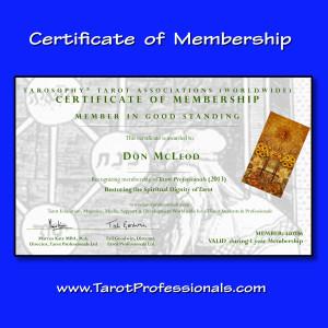 Tarot Professional Membership