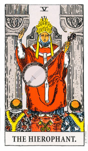 The Hierophant and his Banjo