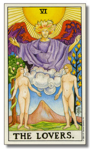 The Lovers Tarot on Valentine's Day