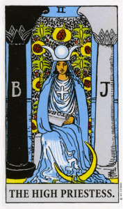 Women of the Tarot - The High Priestess from Rider Waite Tarot