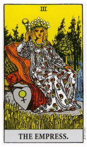 Women of the Tarot - The Empress from Rider Waite Tarot