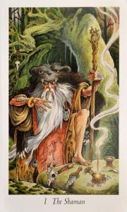 The Shaman from the Wildwood Tarot Deck