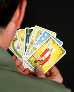 choosing a tarot card for a spiritual reading