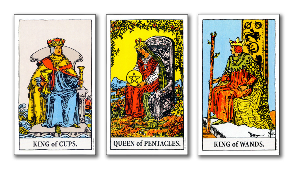 kings & queens of the tarot