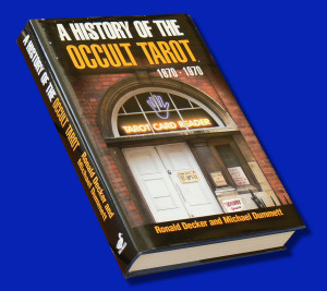 cover - history of occult tarot